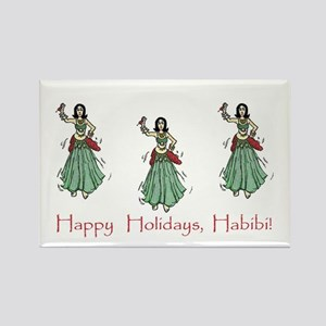 Habibi Holiday Rectangle Magnet