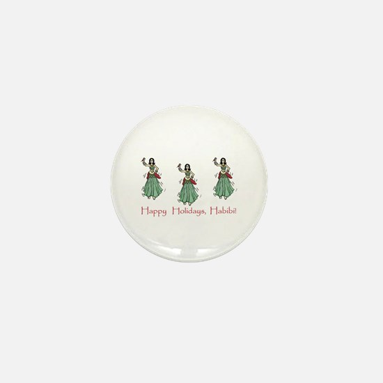 Habibi Holiday Mini Button