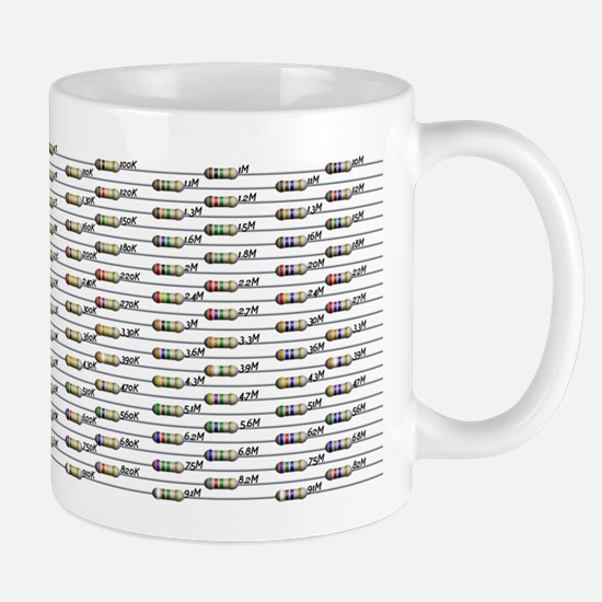 168 Standard Resistors Mug