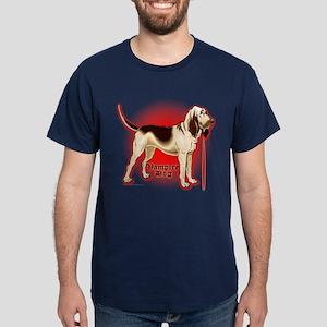 Bloodhound Vampire Dog Dark T-Shirt