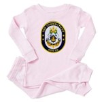 USS CONNECTICUT Baby Pajamas