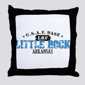 Little Rock Air Force Base Throw Pillow