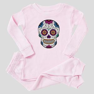 fc3d1db0a9 Sugar Skull Baby Pajamas - CafePress