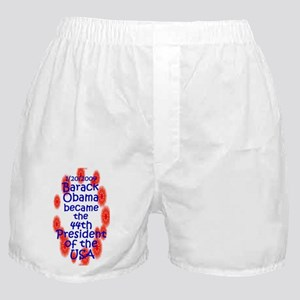44th President of the United Boxer Shorts