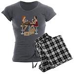 Seminole Sushi Girls Women's Charcoal Pajamas