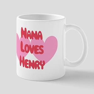 Nana Loves Henry Mug