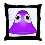 Useless Blob Throw Pillow