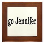 go Jennifer Framed Tile