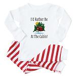 At The Cabin Baby Pajamas