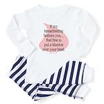 Feel free breastfeeding Baby Pajamas