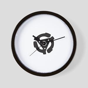"""DJ 45rpm 7"""" Record Wall Clock"""