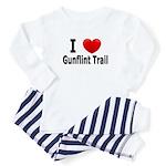 I Love the Gunflint Trail Baby Pajamas
