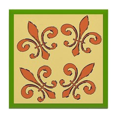 Fleur De Lis Ceramic Tiles Tile Coaster