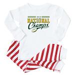2010 Nat10nal Champs Baby Pajamas