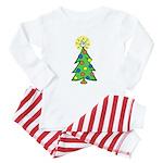 ILY Christmas Tree Baby Pajamas