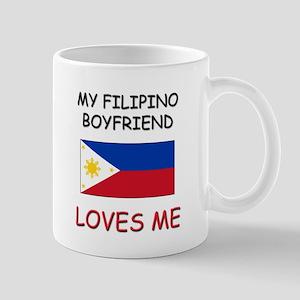 My Filipino Boyfriend Loves Me Mug
