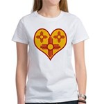 New Mexico Zia Heart Women's T-Shirt