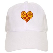 New Mexico Zia Heart Cap