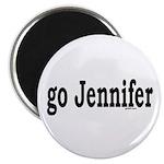 go Jennifer Magnet