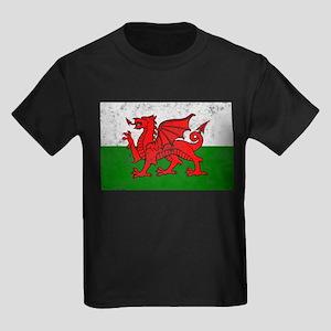 Wales Kids Dark T-Shirt