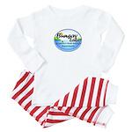 """Baby Pajamas w/ """"Sun"""" Logo"""