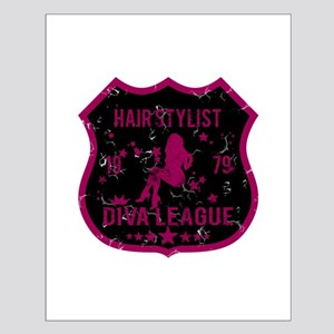 Hair Stylist Diva League Small Poster