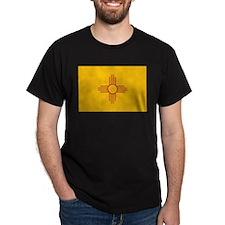 New Mexico State Flag Dark T-Shirt
