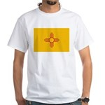 New Mexico State Flag White T-Shirt