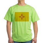 New Mexico State Flag Green T-Shirt