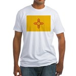 New Mexico State Flag Fitted T-Shirt