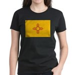 New Mexico State Flag Women's Dark T-Shirt