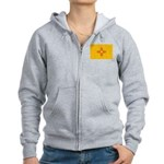 New Mexico State Flag Women's Zip Hoodie