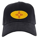 New Mexico State Flag Black Cap