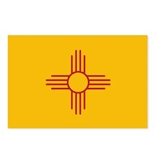 New Mexico State Flag Postcards (Package of 8)