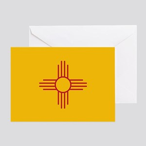 New Mexico State Flag Greeting Card