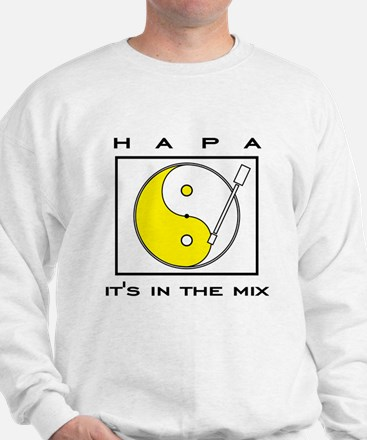 """Hapa Turntable"" t-shirts and Sweatshirt"