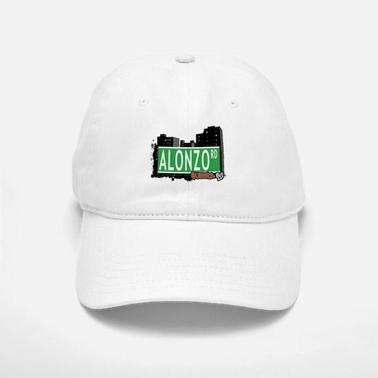 ALONZO ROAD, QUEENS, NYC Baseball Baseball Cap