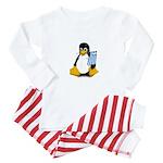 Greek Tux Baby Pajamas