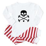 Skull and Cross Fitness Baby Pajamas