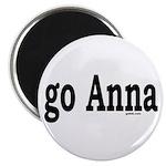 """go Anna 2.25"""" Magnet (10 pack)"""