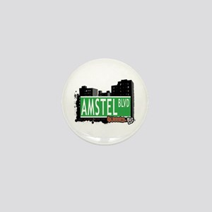 AMSTEL BOULEVARD, QUEENS, NYC Mini Button