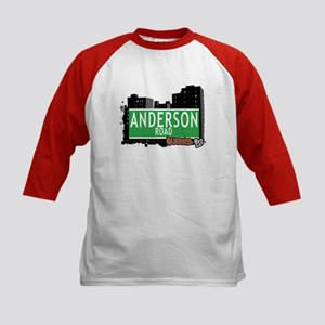 ANDERSON ROAD, QUEENS, NYC Kids Baseball Jersey