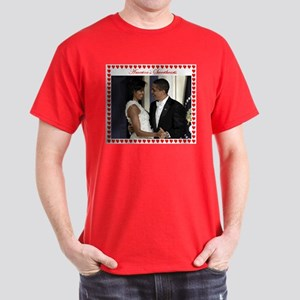 Obamas at the Inaugural Ball Dark T-Shirt