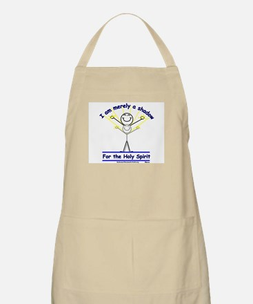 Shadow for the Holy Spirit BBQ Apron