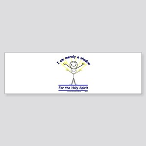 Shadow for the Holy Spirit Bumper Sticker