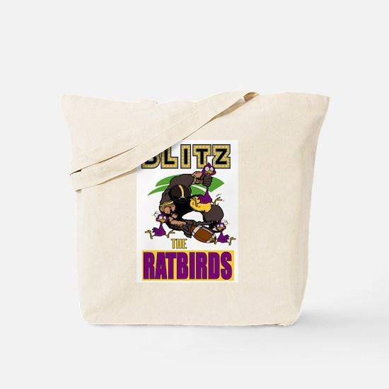 Blitz The Ratbirds Tote Bag