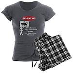 Funny Goat Warning Pajamas