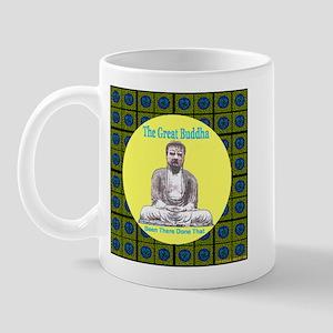 The Great Buddha Harmony Carp Mug