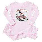 Ground And Pound Baby Pajamas