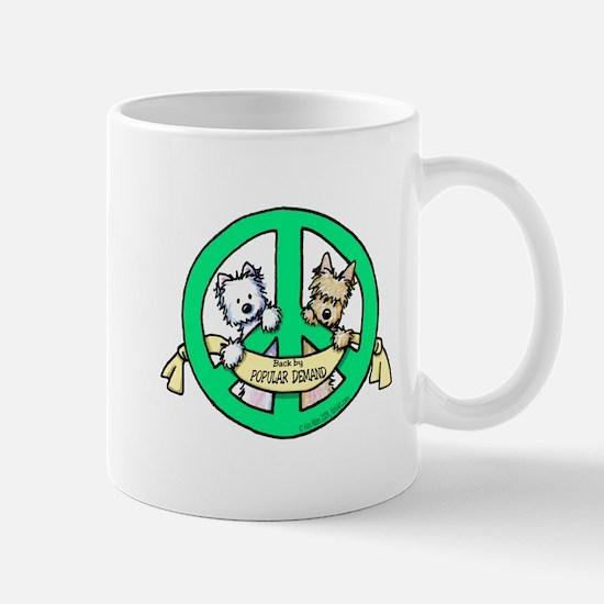 PEACE Terriers Mug